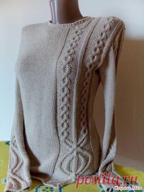 . El pulóver por los rayos - la Labor de punto - el País de las Mamás