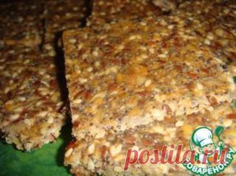 "Крекеры ""5 семян"" - кулинарный рецепт"