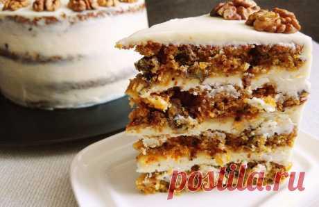 Рецепт самого вкусного морковного торта в домашних условиях пошагово с фотографиями