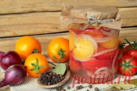 Маринованные помидоры с луком в желе Тайм-менеджмент на кухне: как сохранить время, силы, деньги и всех вкусно накормить