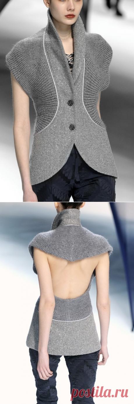Vest from jackets \/ Vests \/ Second Street