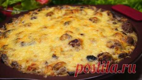 Угощайтесь! Вкусный обед или ужин из картошки и фарша