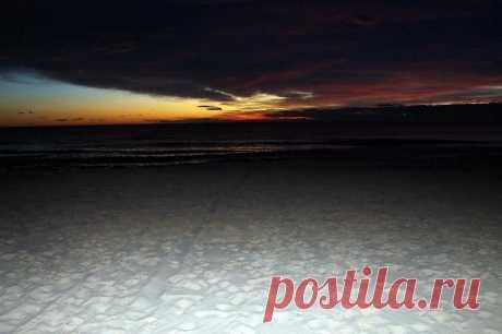 Рассветы и закаты - пляжи Коста Бланка по-русски