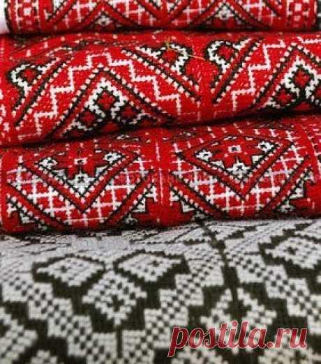 Красочные украинские вышивки крестом / X-Style