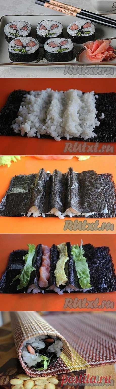 Как приготовить суши кадзари (рецепт с )   RUtxt.ru