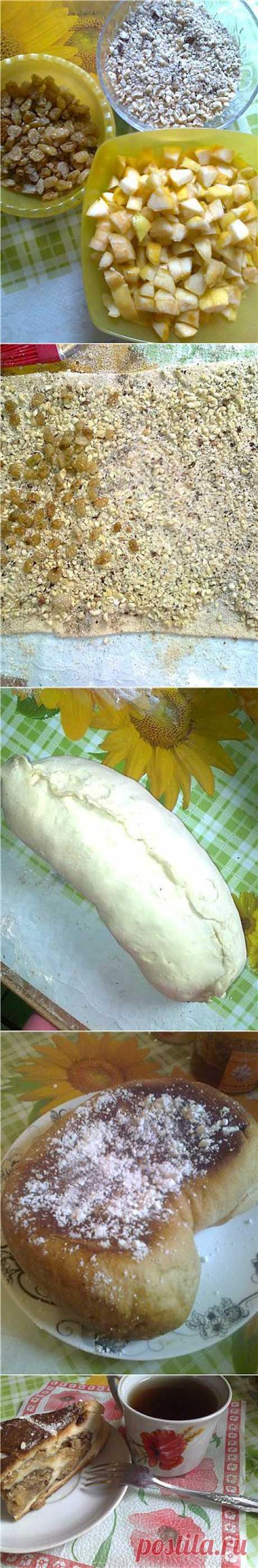 Яблочный штрудель - Блоги - Кроха