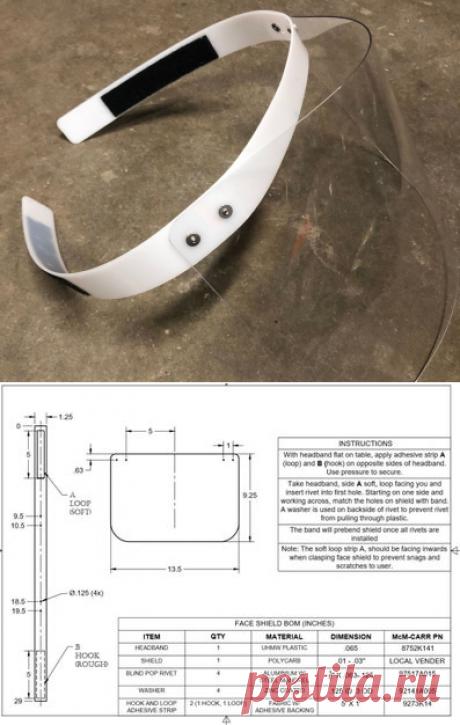 Pantalla facial - Plana y fácil - Sin impresora 3d: 4 pasos - Instructables