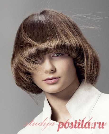 Стрижки для густых волос   Стрижки и Прически