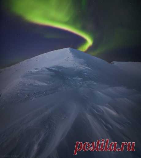 Mountain Aykuayvenchorr, Khibiny Mountains, Murmansk region. The author of a photo is Vitaly Istomin: nat-geo.ru\/photo\/user\/120628\/