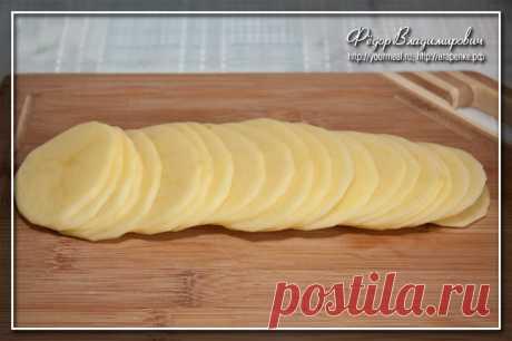 Эффектная жареная картошечка | Четыре вкуса