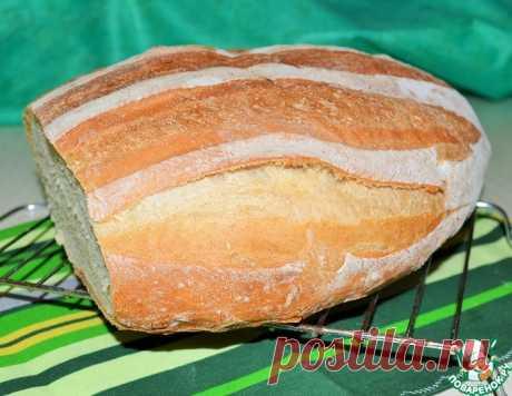Французский сельский хлеб – кулинарный рецепт