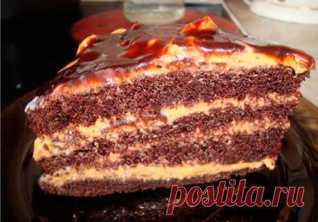 Восхитительно вкусный домашний торт «Золотой ключик». Настоящее лакомство для детей! | Самые вкусные кулинарные рецепты