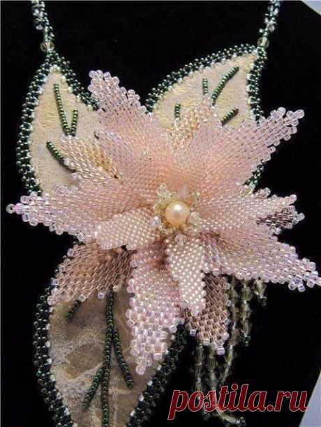 Восхитительные цветы из бисера: вдохновляющие идеи для творчества