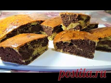 Пирог простой но очень вкусный из манки на молоке Рецепт