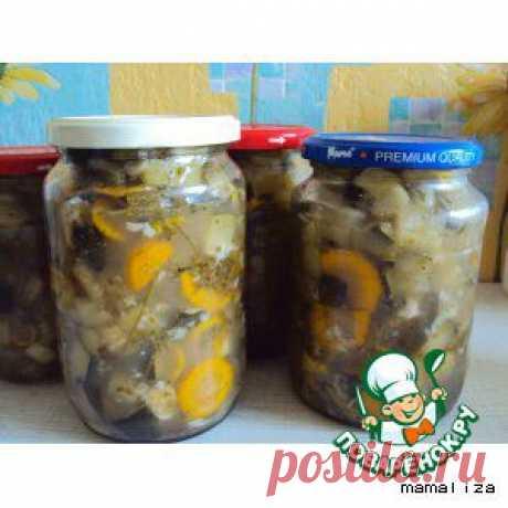 Кабачки - грузди - кулинарный рецепт