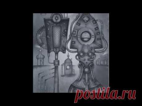 Peasant with Distaff by Eugene Ivanov, 41 x 29 cm, watercolor, 2019 - YouTube  #russianfolksteampunk #kokoshniksteampunk #folksteampunk #rusfolksteampunk #russiansteampunk #surrealism #steampunk #watercolor #watercolourpainting #painting #best #philosophy #philosophical #metaphysics #art #russia #russian #ortodox #kokoshnik #openstudio