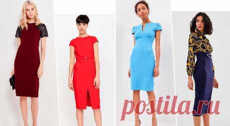 Офисный дресс-код: выбираем стильные платья-футляры . Милая Я