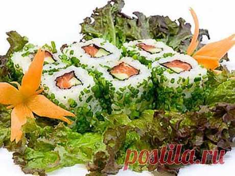Грин Таун Ролл - myrolls.ru - 1000 рецептов суши и роллов