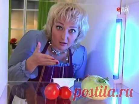 Кулинарный ликбез с Ильей Лазерсоном - Томатный суп с пельмешками