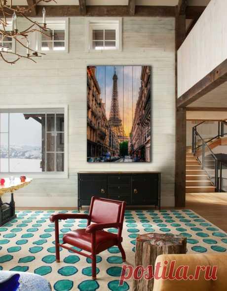 "Картина ""Эйфелева башня"" по цене от 5900 руб. Размеры: 60x90 см, 80x120 см, 100x150 см, 120x180 см. Срок изготовления: 2-3 дня."