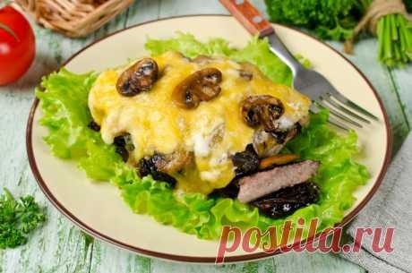 Отбивные из говядины с черносливом — Sloosh – кулинарные рецепты