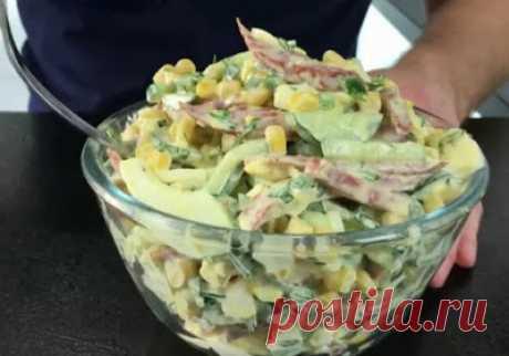 Кулинарочка: Салат «Ярославский» — готовится за считанные минуты, а вкус такой,что не оторваться