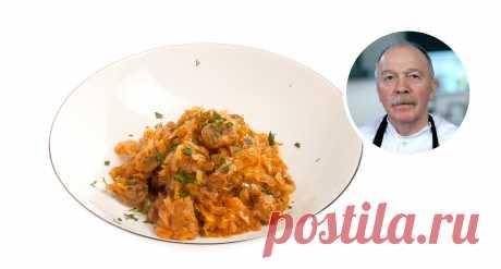 Как сделать солянку, но не суп Мастер-класс Александра Васильевича Попова, шефа ресторана «Волна»
