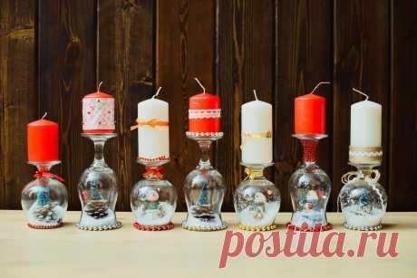 Декор новогоднего стола: идеи — Сделай сам, идеи для творчества - DIY Ideas