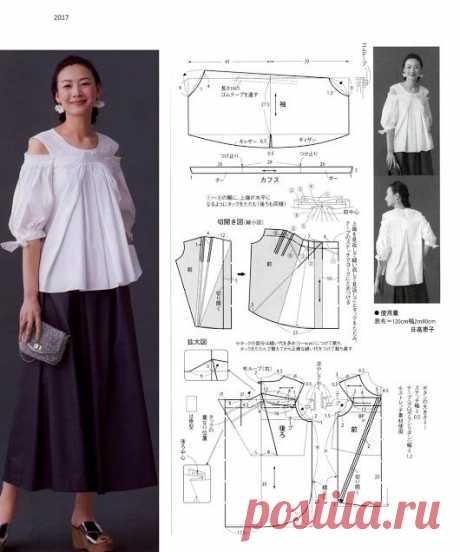 Азиатские выкройки (трафик) Модная одежда и дизайн интерьера своими руками