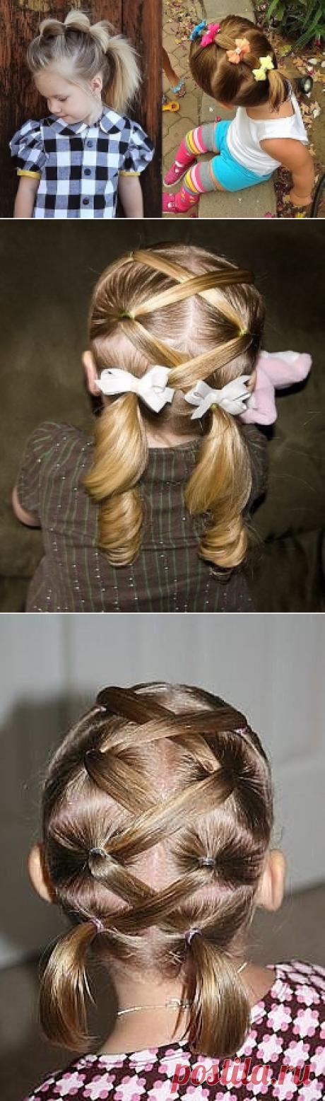(2) Одноклассники. Причёски для внучек.