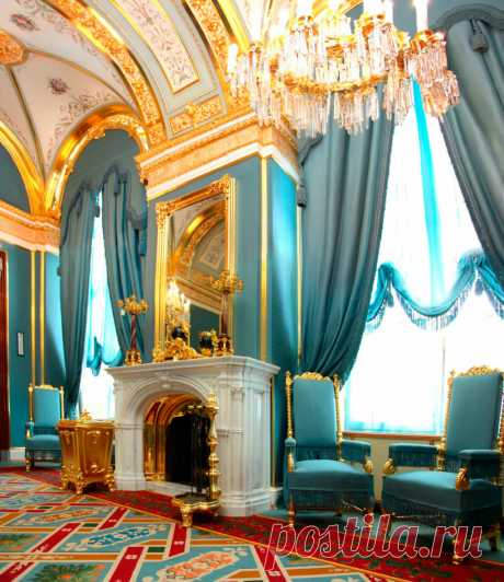 Королевские шторы: Большой Кремлёвский дворец | Интересно о шторах от Акмэ Декор | Яндекс Дзен