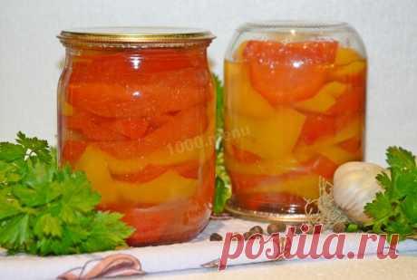 Перец болгарский на зиму дольками маринованный рецепт с фото пошагово - 1000.menu