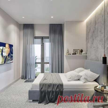 Чудесно оформленная спальная комната. Мне нравится абсолютно все.