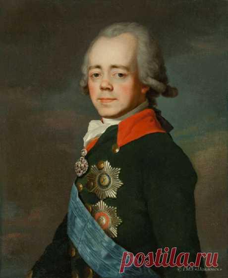 Павел I портрет. Беседка.ТВ