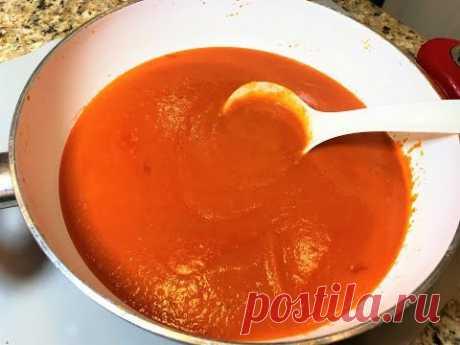 СОУС - ПОДЛИВА для гречки, спагетти, котлет, мяса, рыбы...Неверояно Вкусный!