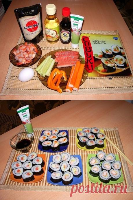 Суши-бар у вас дома. Готовим роллы!..