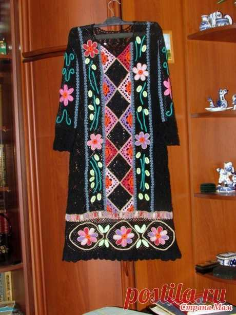 . A dress the Peruvian motives - Knitting - the Country of Mothers