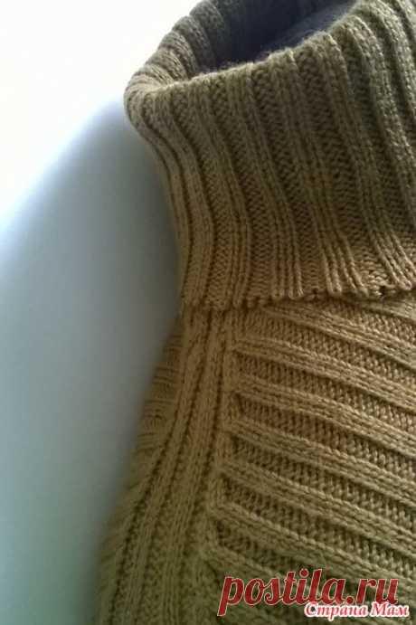 """. МК """"Особенности прибавления-убавления петель на пройме и рукавах изделий, связанных резинкой """" - Машинное вязание - Страна Мам"""