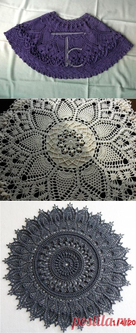 По мотивам салфеток Патрисии Кристофферсен — Татьяна Комарова | Crochet Studio