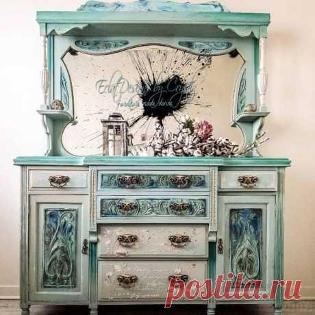 Креативные идеи преобразить старую мебель с помощью росписи - Сам себе мастер - медиаплатформа МирТесен