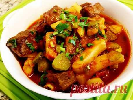 Азу по‑татарски — Sloosh – кулинарные рецепты