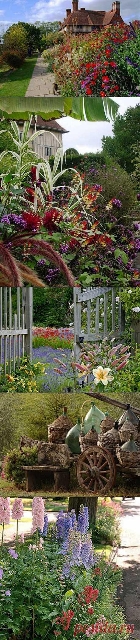 Сад в сельском стиле – возвращение к истокам природы