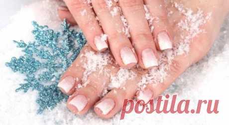 5 способов защитить кожу рук от сухости в мороз.