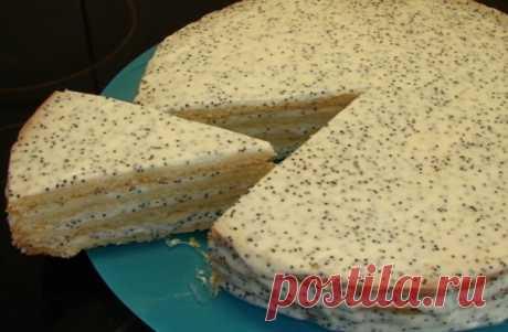 Как приготовить сметанный торт. - рецепт, ингридиенты и фотографии