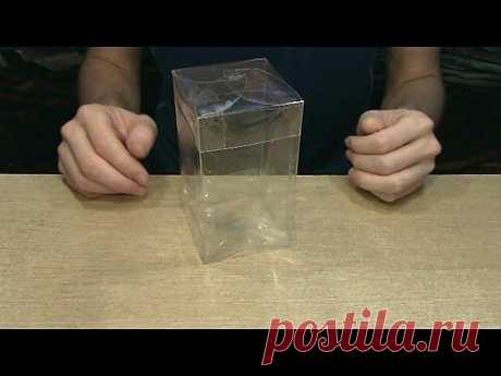 ▶ Коробка из пластиковой бутылки. - YouTube