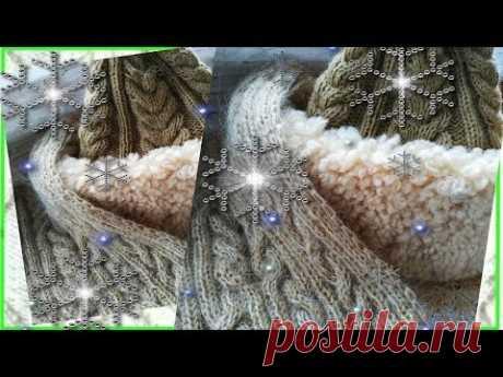 Мечты сбываются Новая пряжа Новые проекты Красивейший шарф спицами