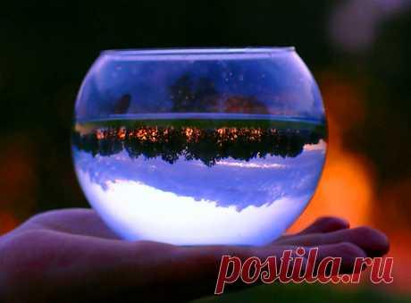 Перевернутый мир - Волшебные отражения (20 фото)