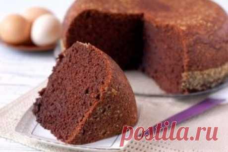Бисквит шоколадный в мультиварке или «шоколад на кипятке» — Фактор Вкуса