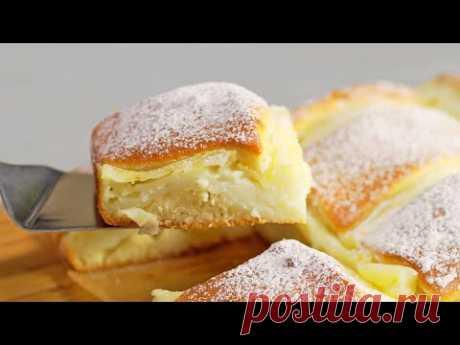 Такие простые продукты, а в результате – Итальянский волшебный кремовый торт от Всегда Вкусно!