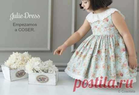 Платье для девочки мастер - класс. — Сделай сам, идеи для творчества - DIY Ideas